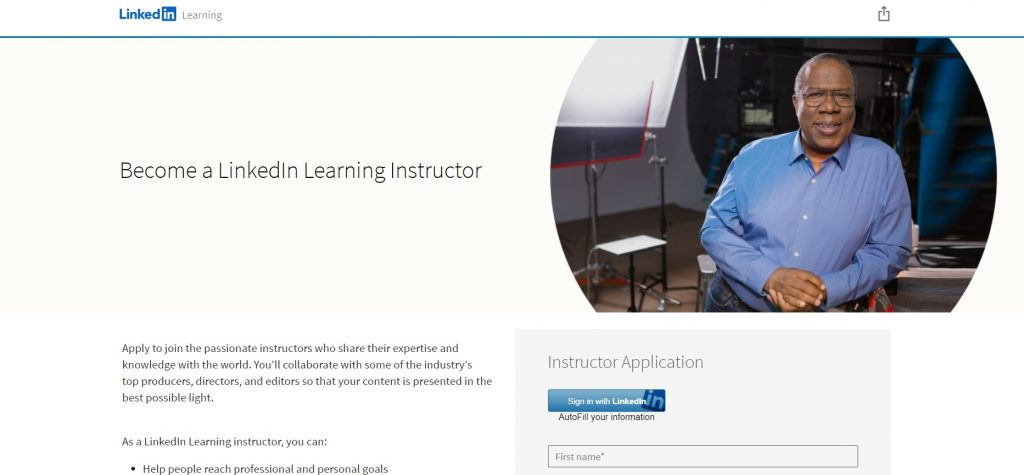 How to become an instructor on Lynda,