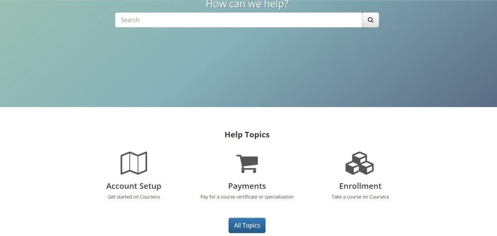Coursera's support page.