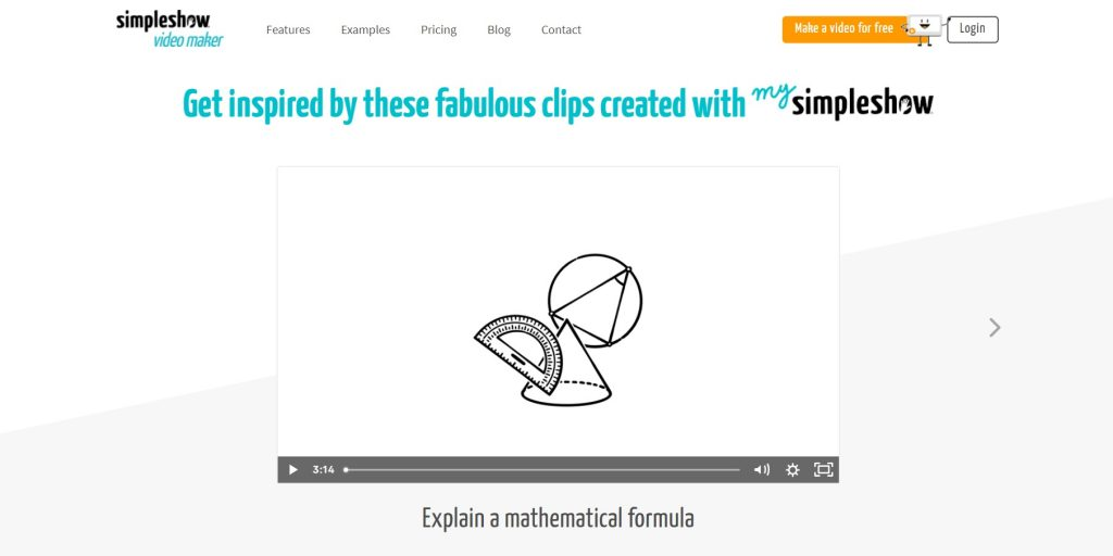 Examples of SimpleShow's works.