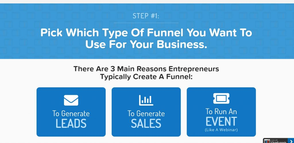 ClickFunnels' features and tools.