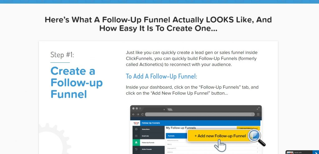 How to build a follow-up funnel on ClickFunnels.