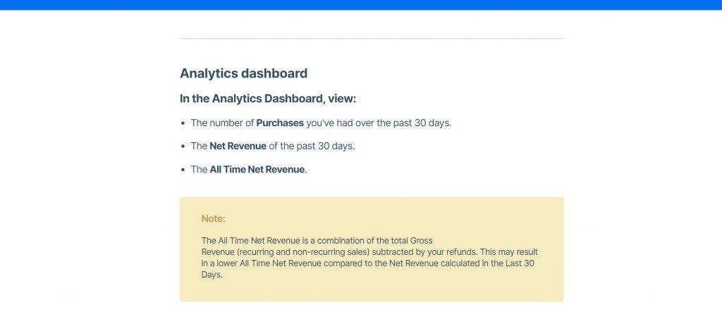 How to work with Kajabi's analytics dashboard.