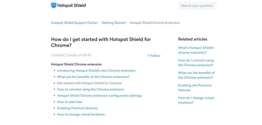 How to start Hotspot Shield on Chrome. Hotspot Shield.