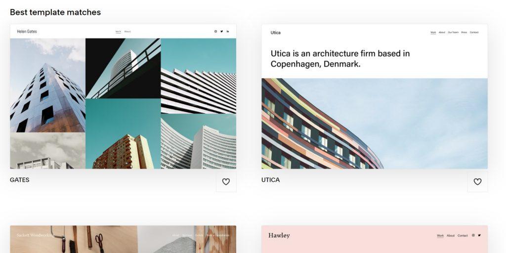 Art & Design category. Squarespace.