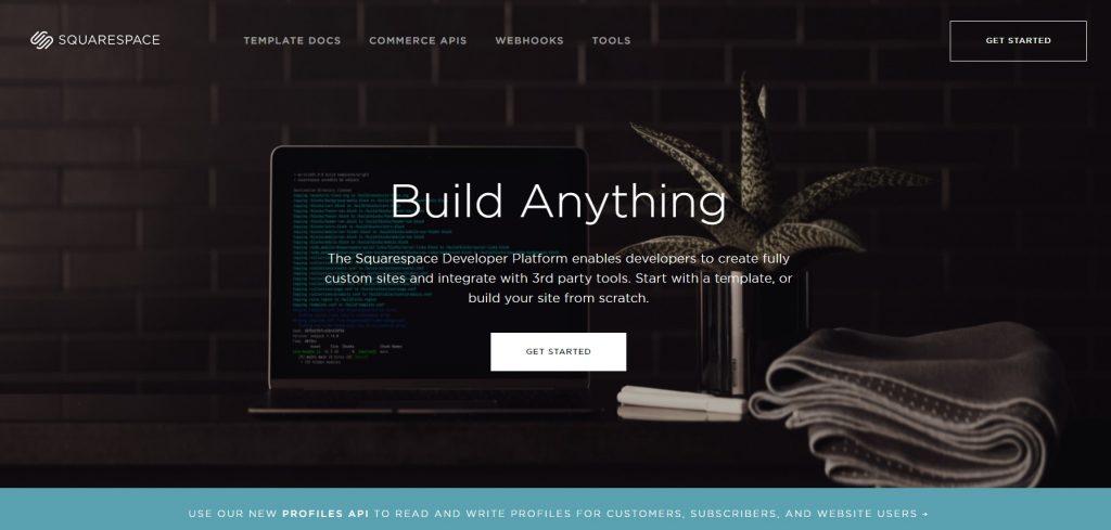 the Squarespace Developer Platform.