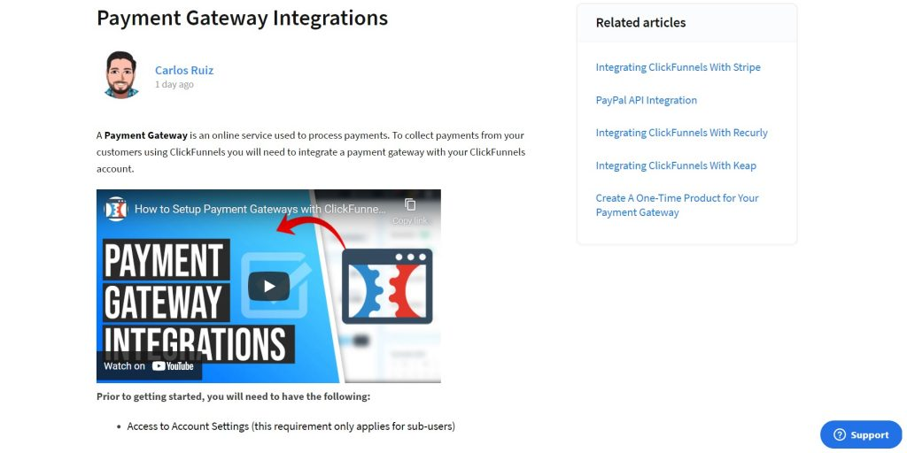 How to connect payment gateways to your page or funnel. ClickFunnels.